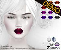 Zibska ~ Sascha Lips Demos [lelutka/genus/laq/catwa/omega/universal tattoo BOM layer]