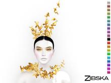 Zibska ~ Gintare Color Change Headpiece and Collar