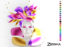 Zibska ~ Anthousa Color Change Headpiece and Collar