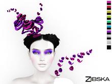 Zibska ~ Knut Color Change Hat and Shoulder