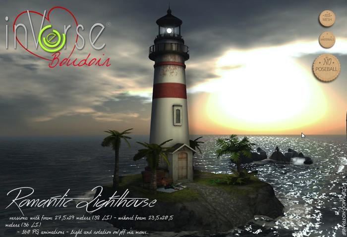 inVerse Boudoir  - Romantic Lighthouse scene 160  anim BXD 1.0