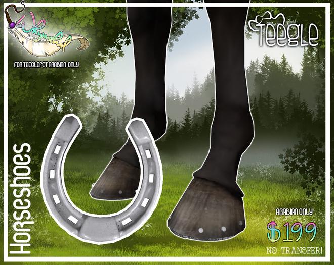 Horseshoe - Teeglepet - Arabian