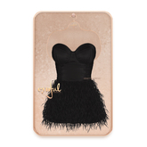 Cynful Odette Corset Dress - Black