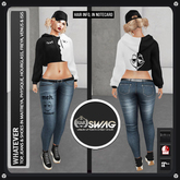 [RnR] Swag Whatever Ladies Denim Outfit Includes: Freya, Venus, Isis, Maitreya, Physique & Hourglass!