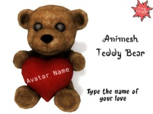 : Tiny Things : Teddy Bear Animesh