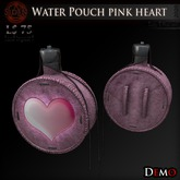 (Demo) Water Pouch pink heart