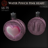 (Box) Water Pouch pink heart