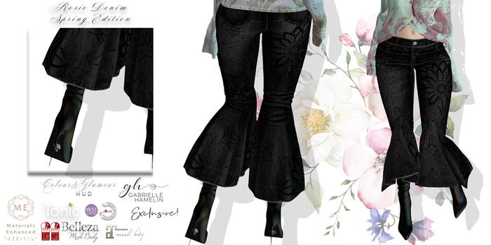 ♥ {GH} ♥ Rosie Denim & Lizzie Shortie Boots Spring
