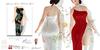 Adriana winter valentine gown poster