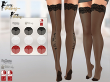 LB - Be Mine Valentine's Day Stockings Applier HUD (3x Colours)