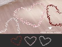 +Half-Deer+ Rose Petal Heart [3 colors]