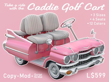 Caddie Golf Cart - PERFECT VALENTINE'S GIFT