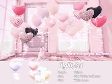 +Half-Deer+ Heart Fairylight Balloons [Light Set]