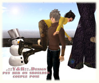 .::Y&R::.Desidn put her on shoulder couple pose(boxed)