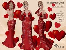 ST :: Valentine 2020 Outfit  for Maitreya, Slink (P, H), Belleza ( V, I, F)