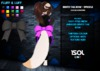 F&L - Bento Tail Bow - Speckle Glitter