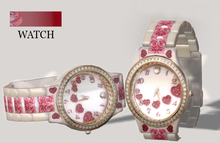 **Stylovely** - Watch  Diamond *GOLD Valentine*