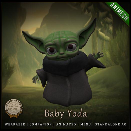[C] Animesh Follower - Baby Yoda (Wear)