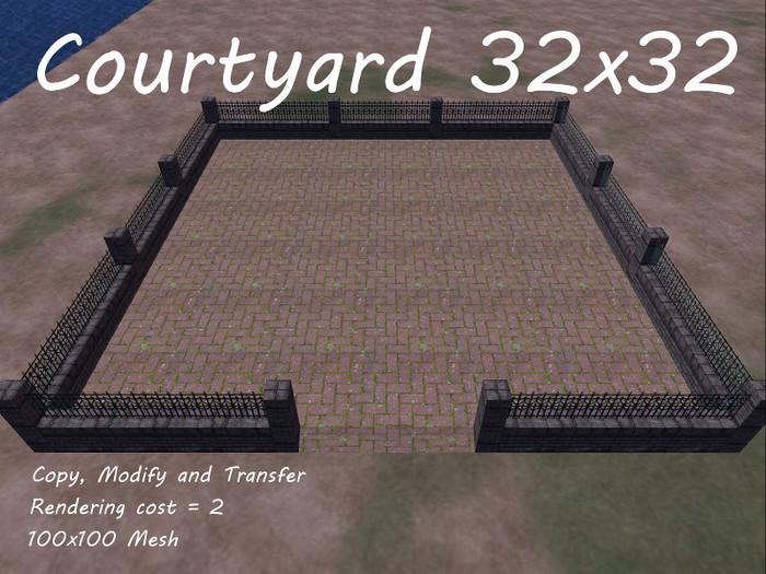Mesh Courtyard 32x32