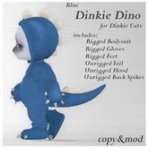 *SZ* Dinkie Dino Outfit / Blue