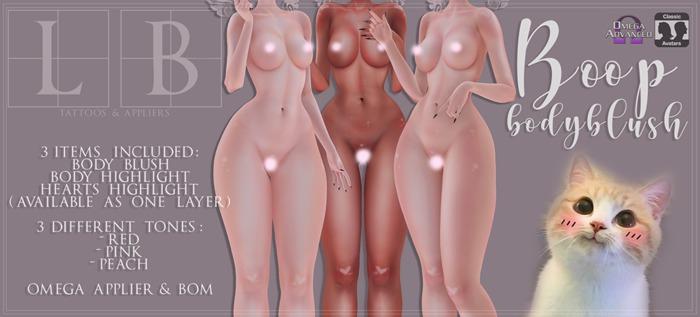 Ladybird. // Boop Body Blush