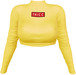 EVIE - Cold Freak Sweater [Yellow]