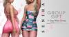 Milla dress set ad