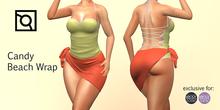 eBODY - Candy -  Beach Wrap - FULL PACK
