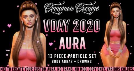 [Cinnamon Cocaine] Vday 2020 Aura