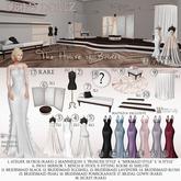 12. Dead Dollz - The House of Brides - Bridesmaid Eggshell