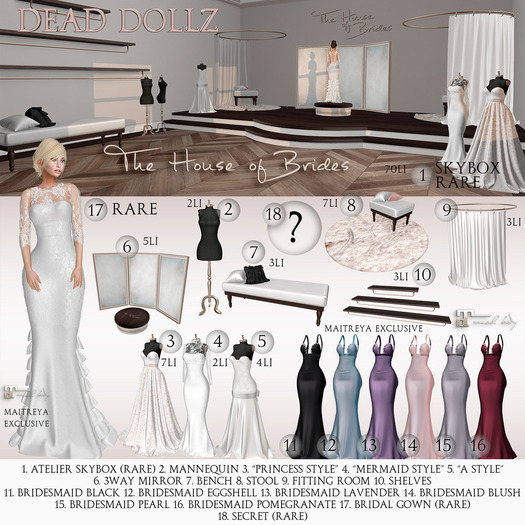 """05. Dead Dollz - The House of Brides - """"A Style"""""""