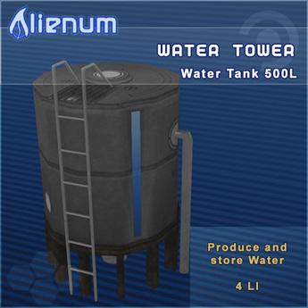 Alienum Water Tower - 500L - v.4.0