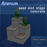 Alienum Seed Plot Steps Concrete