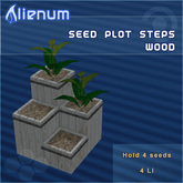Alienum Seed Plot Steps Wood