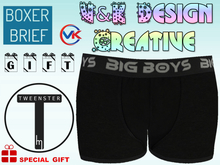 V&K Design Tweenster !!GIFT!! Boys Boxer brief