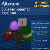 Alienum Cluster - Increase Land Traffic - Aquatic 20% Tax