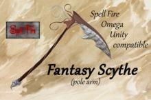 Fantasy Scythe (pole arm)