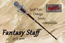 Fantasy Staff (pole arm)