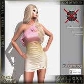 :KR: Bonita Dress - Blends - Goldenrod (Add Me)