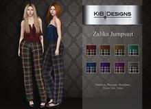 KiB Designs - Zalika Jumpsuit FATPACK