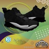 :PM: Sneakers Flax - Black #1