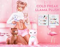 EVIE - Cold Freak Llama Plush
