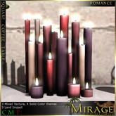 =Mirage= Candle Cluster - Romance Mix