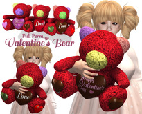 [ FULL PERM ] Valentine's Bear (wear)