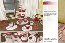 Sway's [Hedy] Cupcake Set