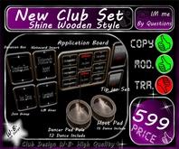 * New * Shine Club Set Pack * Appl. Board Tip jar ect. *