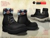 A&D Clothing - Boots -Hammer- Ebony