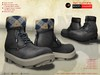 A&D Clothing - Boots -Hammer- Charcoal