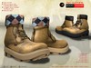 ! a d clothing   boots  hammer   peach