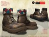 A&D Clothing - Boots -Hammer- Brown